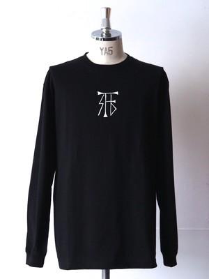 FUJITOSKATEBOARDING Long Sleeve T-Shirt  Black (Mark ver.)