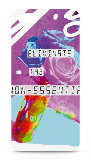 iPhoneケース 側面あり -Eliminate the non-essential