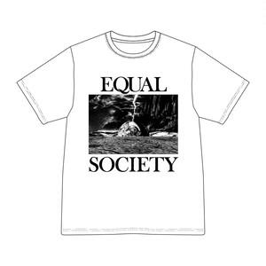 EQUAL SOCIETY T-Shirt Ver.1 WHITE [1909]