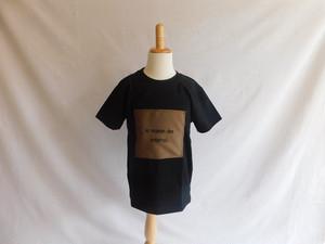 【ZEKKENブラウン】Tシャツ ブラック