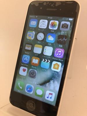 iPhone5c 32GB ホワイト(au)【5028】