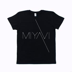 MIYAVI Logo T-shirts (Black)