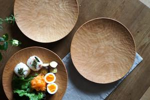 丸皿(φ240) チェリー