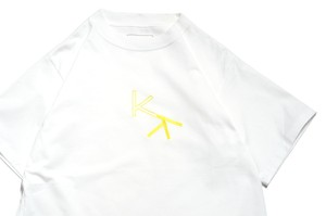"""KK"" T-Shirt WHITE -kudos-"
