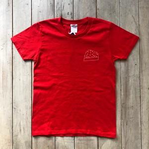 レディースポケットチーフTシャツ(Red)