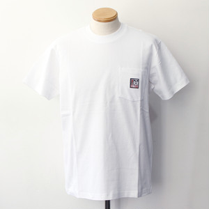 【OBEY】 POINT ORGANIC POCKET TEE SS (WHITE)