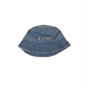 EXAMPLE DENIM BUCKET HAT / LIGHT BLUE