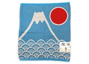 メンズ 腹巻き 富士山 Lサイズ 水色