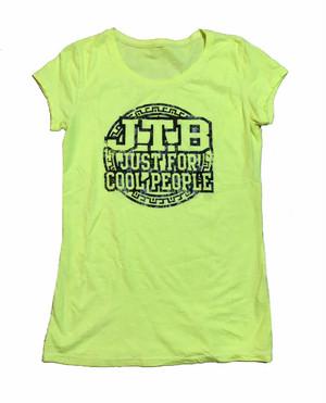 【JTB】LOGO GRANDE JUST FOR Tシャツ【蛍光イエロー】イタリアンウェア【送料無料】《M&W》