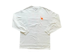 charmpoint. USA / NAKA YORK CITY LS T-Shirt White
