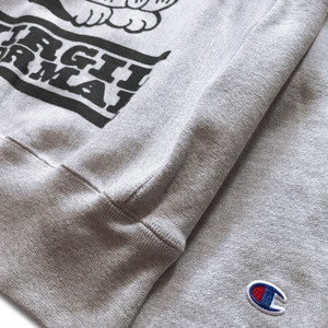 VIRGIL NORMAL | VN Booster Heather Grey Crew Sweatshirt
