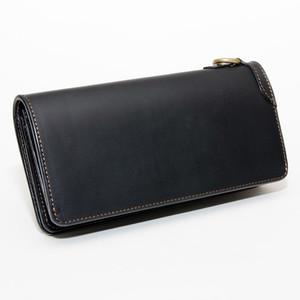 No.92 original LONG WALLET BLACK「イタリアンレザーウォレット 長財布」