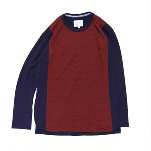 quolt / AFURE KNIT / NAVY-RED