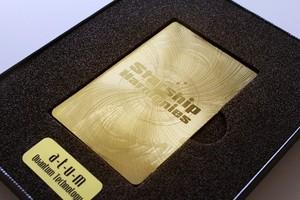 ゴールド版スターシップカード