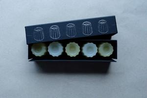 カヌレ羊羹 [ 檸檬 × 塩 ]