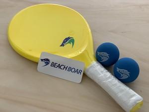 BEACH BOAR - PERFORMANCE BRAZIL(オリジナルボール×2 ステッカー付)カラー:黄色 #高品質