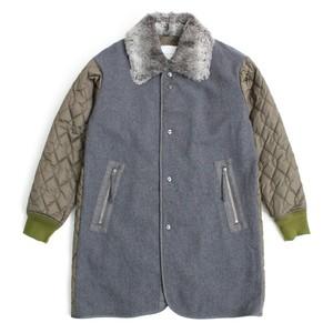 Military lining coat -Gray