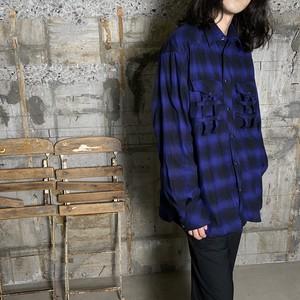 TAKAHIROMIYASHITA The SoloIst.【タカヒロミヤシタ ザ ソロイスト】Not Western Shirt?(ss.0013 Blue).