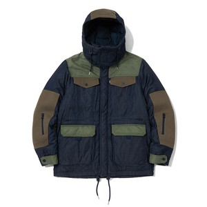 WM x LMC PADDED JACKET - INDIGO