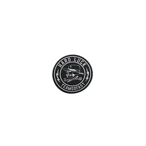 HARD LUCK - GREAT TIMES STICKER (Black) 38mm