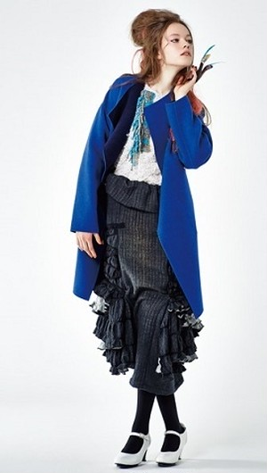 HISUI Reversible Gown Coat