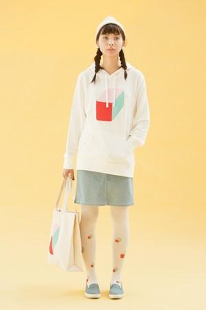 ボックストートバッグ(2color)