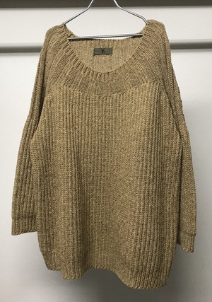 1980s Y's OVERSIZED SWEATER
