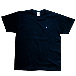 """Symbol -black×刺繍white-"" (Heavy) T-Shirt"