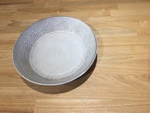 《作家名・KOZUE》 黒LACE・スープ皿