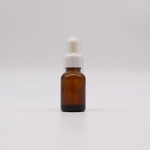 遮光ガラススポイト瓶 20ml(白・赤)