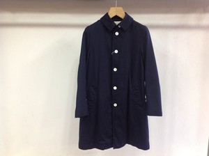 "LIVING CONCEPT""SOUTIEN COLLAR COAT NAVY"""