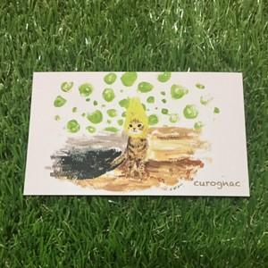 メッセージカード sen cutecat(10枚入り)
