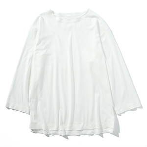 mellow edging L/S tee(offwhite)