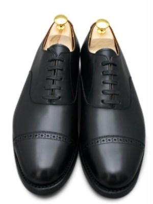 宮城興業 内羽根 キャップド・トゥ 革靴・ビジネスシューズ・紳士靴