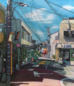 陽だまりの坂道 新宿区赤城元町