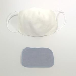 【立体ニット綿マスク】銅繊維フィルター付き