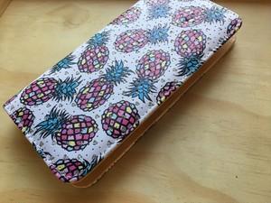 【Pineapple No,1】ハワイ パイナップル 長財布 【ウォレット】レディース財布 ハワイアン雑貨 ラウンドファスナー