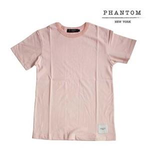 PHANTOM NYC / Safety T-shirt Pink (ファントム ニューヨーク セーフティー Tシャツ ピンク)