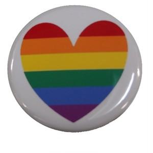オリジナル缶バッジ〈レインボーハート/Rainbow Heart〉