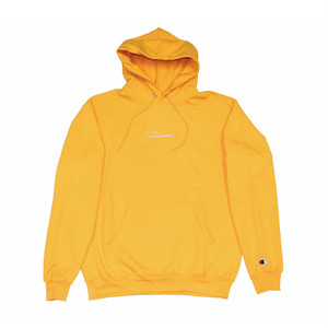 FROWGRESSIVE TAG PULLOVER HOODY BY ELI MORGAN GESNER GOLD