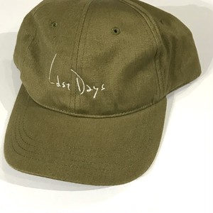 "VAST222  ""last days"" cap khaki"