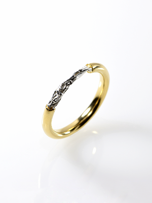 [リング] crumpled ring / Type2 Gold