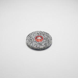 石のコースター 【だるま】