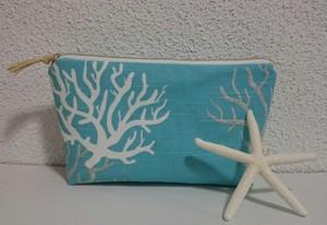 サンゴポーチ M ブルー