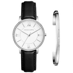 1セット時計&ブレスレット女性日本クォーツラインストーン腕時計トップブランド高級ファッションカジュアルレディース時計1072PH2-SZ-silver