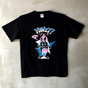 WC johnny × YONZY MILKY BOYS Tシャツ ブラック