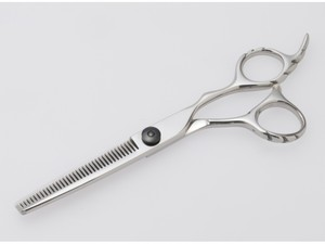 美容師専用セニングシザー/5.5インチ/黒ねじタイプ