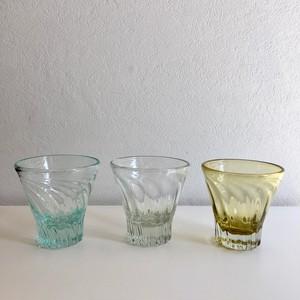 琉球ガラス 白鴉再生硝子 レデューサーグラスショート広口