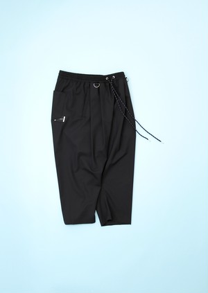 SARUEL CROPPED PT [BLACK]