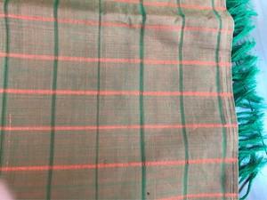 インド デュパタ 玉虫織 大判スカーフ